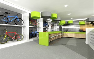 Cycle store concept interior 3